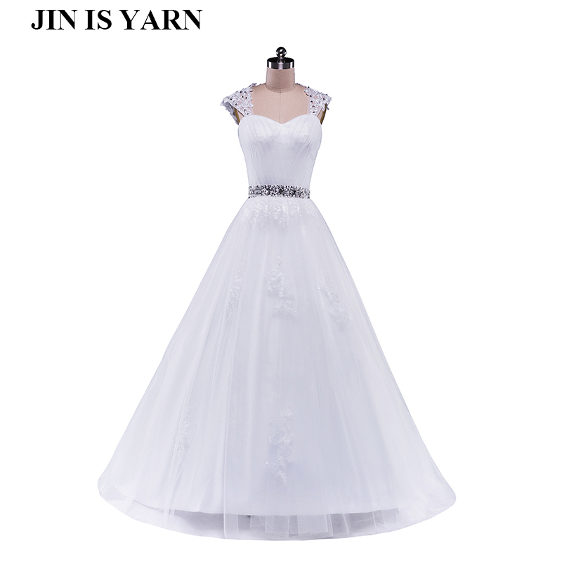 2015 detachable corset diamond White Ivory formal Crystal Beads Wedding Dresses 2016 Bridal Dress plus size elegant wholesale
