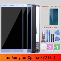 Original 5.7 Display For Sony Xperia XZ2 LCD Display Touch Screen Digitizer XZ2 For Sony XZ2 LCD Screen