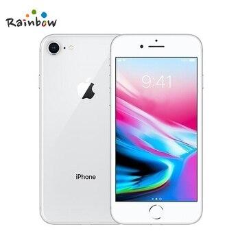 Original Apple iPhone 8 4.7 inch Hexa Core 2GB RAM 64GB ROM 12MP & 7MP Camera 1821mAh iOS LTE Fingerprint Touch ID Mobile Phone 3