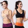 Mulheres Colete Sono Sutiã De Fitness Gymming Yogaing Treino Esportivos Roupas Menina Roupas Íntimas Corre Push Up Tops Camisas Tanque
