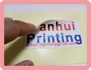 Image 3 - ויניל עמיד למים מדבקת הדפסה מותאם אישית/מבריק למינציה