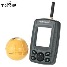 Waterproof Wireless Sonar Fish Finder Portable 125KHz Sounder 36M Depth Fishfinder Night Fishing Tackle