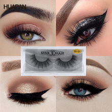 Fake Eyelashes Long Lasting High Quality 3D Mink Handmade False For Makeup Beauty Toiletry Winged Thick Natural