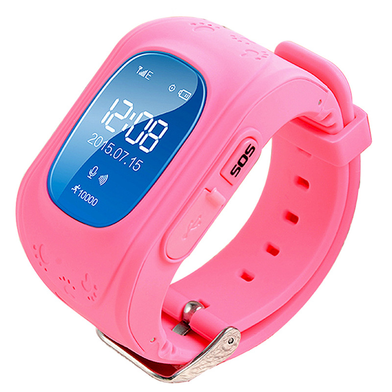 Newest Kids GPS Watch Q50 GPS Smart Watch SOS Call Location Finder Locator Tracker for Child Anti Lost Monitor Baby Wristwatch