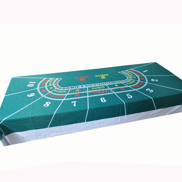 WP-056  Professional Water Resistant Poker Table Cloth,  Texas Holdem,  1PC, Free shipping wp 001 professional water resistant poker table cloth casino layout game cloth