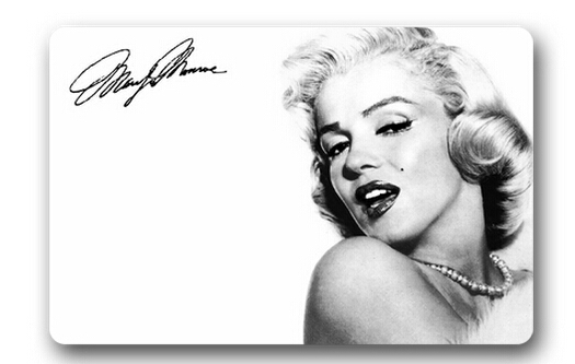 Custom Marilyn Monroe Doormat Bedroom Decor Star Rugs Sexy ...