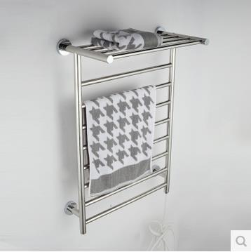 Electric Heating Towel Rail 304 Stainless Steel Toallero Toalheiro Termico Bathroom  Shelf Heating Towel Rack Clothes