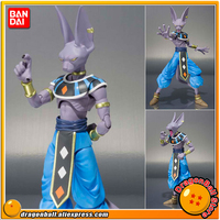 Японии аниме Dragon Ball супер оригинальные BANDAI Tamashii Наций СВЧ/S. h. figuarts фигурку Birus/Beerus