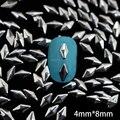 Nrs7 1000 pcs/lot 4 мм * 8 мм алмаз металл шпильки маникюр украшение 3D металл гвоздь наклейка сотовый телефон своими руками аксессуары