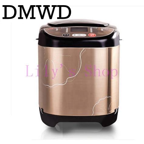 DMWD Multifunction household Toaster breadmaker cake baking automatic intelligent yogurt bread maker flour-mixing machine EU US цена