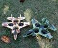2015 mejor popular MJ101 Eléctrico RC Modelo de avión de Combate DEL RC 2.4g avión/rc de Juguete de Control Remoto avión de juguete Buena calidad vs TF002
