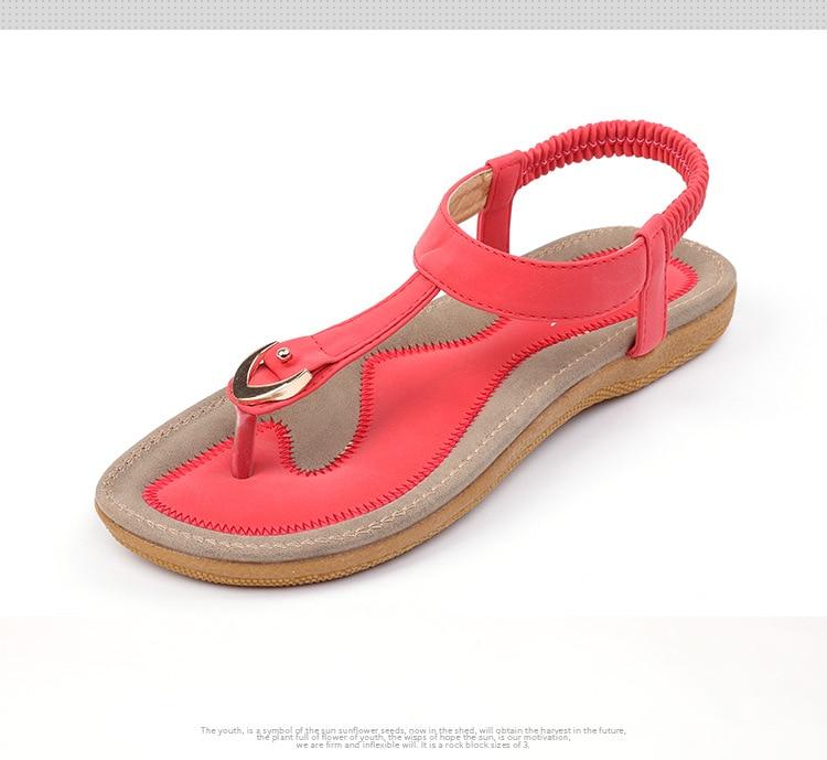 HTB1JQCCCQyWBuNjy0Fpq6yssXXaS BEYARNE size 35-42 new women sandal flat heel sandalias femininas summer casual single shoes woman soft bottom slippers sandals