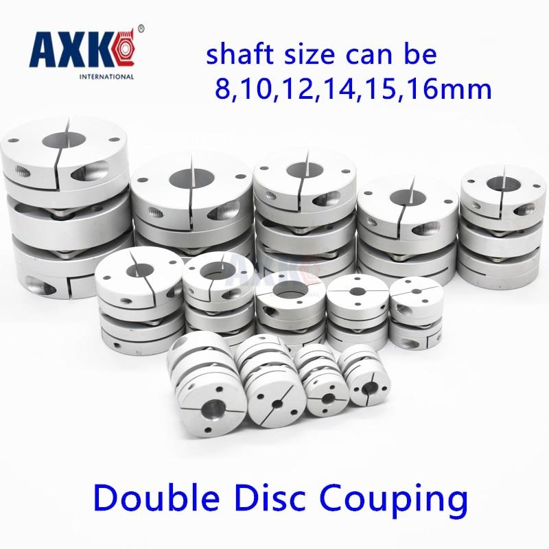 2017 Sale Axk New Dia. 39mm 8mm, 10mm, 12mm, 14mm, 15mm, 16mm Aluminum Alloys Double Diaphragm Disk Coupling Motor Disc Coupler new flexible aluminum alloys single