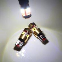 2 Pcs Branco/Âmbar/Cor Vermelha Super Brilhante T10 5 W 27 SMD Erro Canbus Free LED de Iluminação Interior Do Carro Auto Lado Marcador de Luz DC 12 V