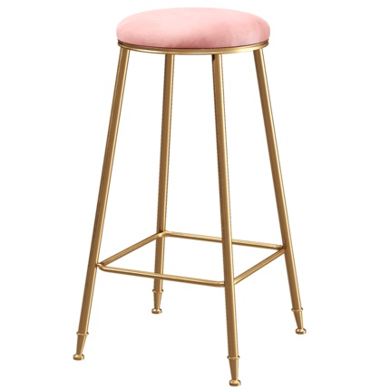 Nordic Modern Home Leisure Bar Stools Coffee Restaurant Simple Light Luxury High Chair Custom Stool