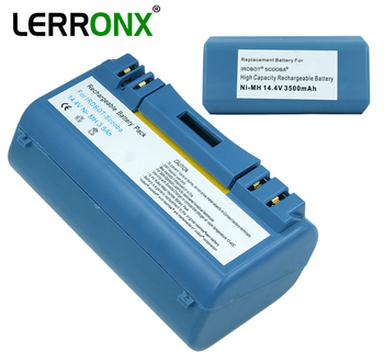 High Quality 14.4V 3500mAh Ni-MH Vacuum Cleaner rechargeable battery replacement for iRobot Scooba 380 385 5910 5920 5999 6000