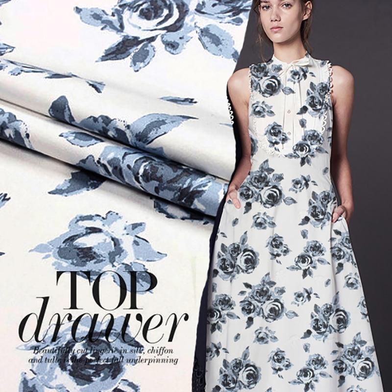 Digitális nyomtatás szövet 100% pamut szövet a nők ruházat - Művészet, kézművesség és varrás