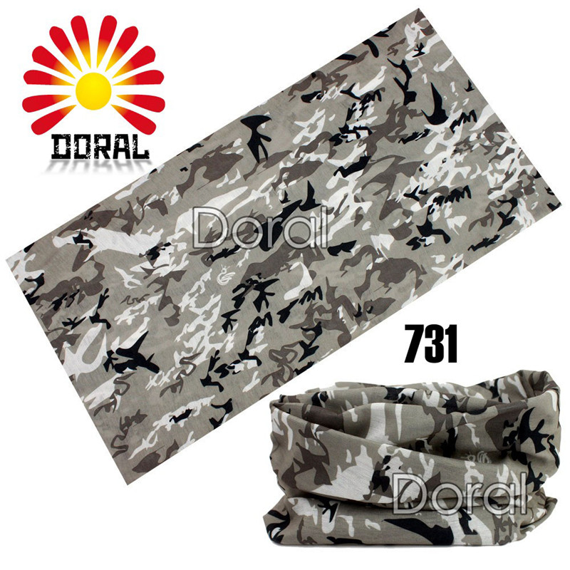 Camo Paisley Bandana Army Headband Camouflage Outdoor Sport Bandana 25*48cm Bicycle Cycling Bandana Scarf Face Mask Headscarf