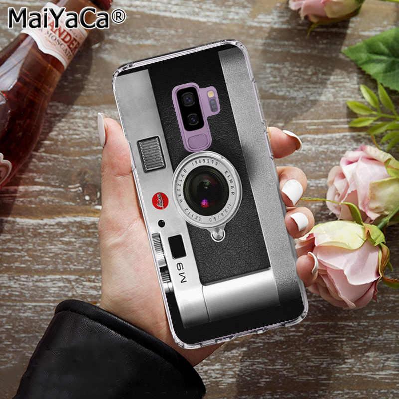 MaiYaCa модный ретро микс кассета лента объем камеры чехол для телефона для samsung galaxy S4 5 6 7Edge 8 9 s6 edge PLUS 8 9plus