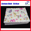 (HM-18) Quality Cartoon lens spectacle glasses Microfiber cleaning cloth Neddle-2 17x14cm