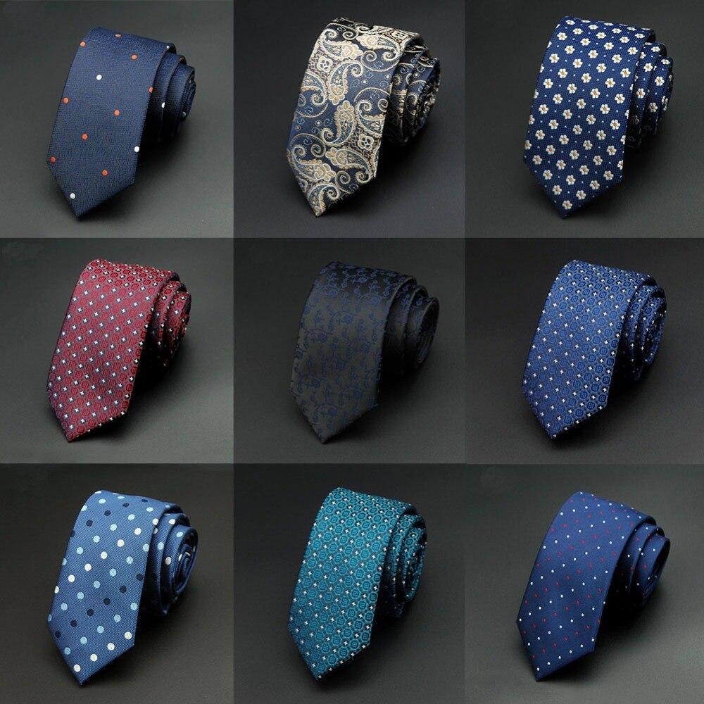 Mantieqingway 6cm 1200 Needles Mens Ties Man Dot Floral Neckties Corbatas Gravata Jacquard Slim Tie Business Green Tie For Men