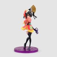 Japanese Anime Figurine Love Live School Idol Project Yazawa Nico Kimono PVC Action Figure Model Toy