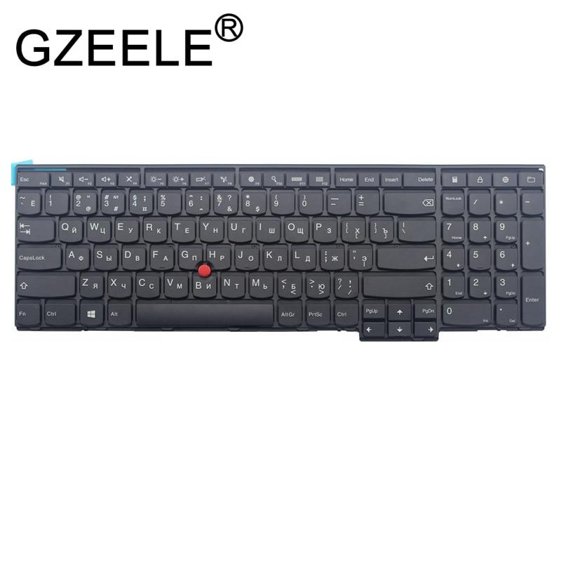 GZEELE tastiera Russa per Lenovo IBM ThinkPad W540 W541 W550s T540 T540p T550 L540 Bordo E531 E540 0C44592 0C44913 0C44952 RUGZEELE tastiera Russa per Lenovo IBM ThinkPad W540 W541 W550s T540 T540p T550 L540 Bordo E531 E540 0C44592 0C44913 0C44952 RU