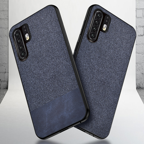 Cotton Cloth Case For Huawei P30 Pro Lite Mate 20 Pro Fabric Back Cover Huawei P30 Pro Case Huawei P30 Lite Case fundas coque On Islamabad