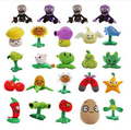 Hot sales 2015 New style 13-18cm (Peashooter) Plants vs Zombies doll Plush toy games doll Baby kawaiii Toy Gifts Kids toys