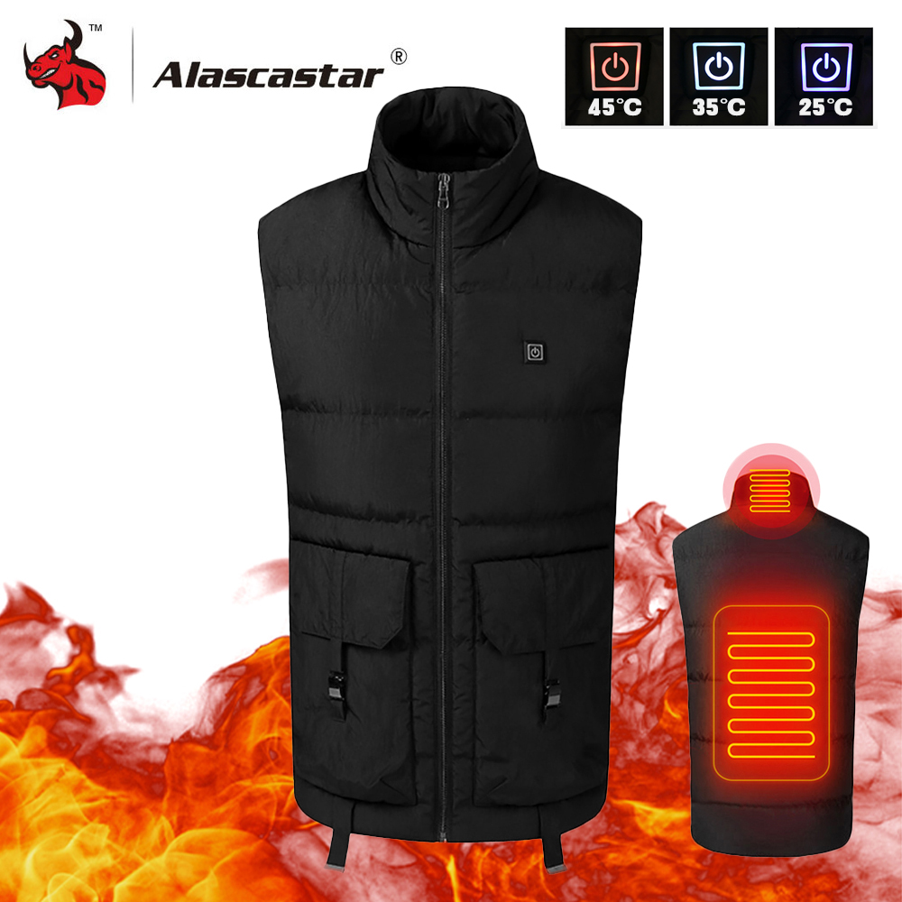 2019 New Motorcycle Jacket Men Women USB Infrared Electric Heating Vest Waistcoat Thermal Clothing Winter Riding