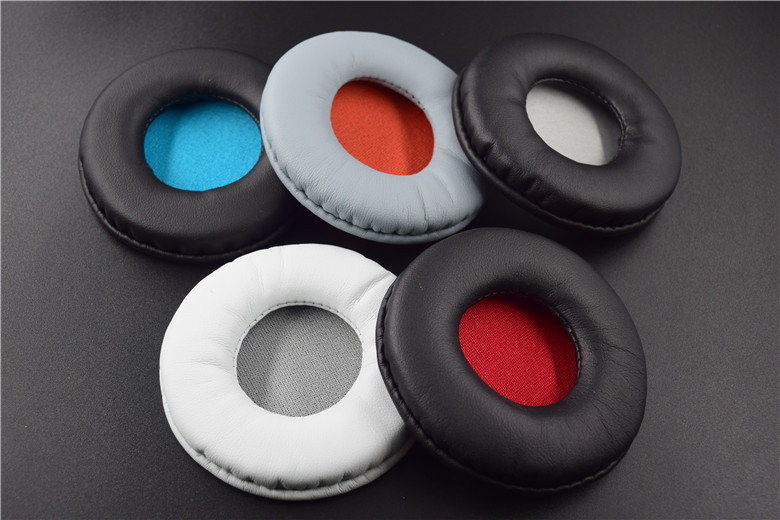 SHELKEE Replacement Ear pads Cushion Cups Ear Cover Earpads for <font><b>SONY</b></font> <font><b>MDR</b></font> ZX600 <font><b>ZX660</b></font> Repair parts image