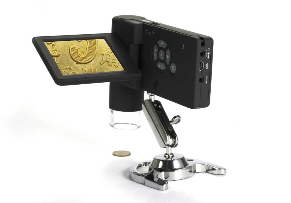Портативный 3.0 '' жк-дисплей-цифровой 5.0MP микроскоп оптический зум 300X цифровой зум , 1200X высокой емкости литиевых батарей