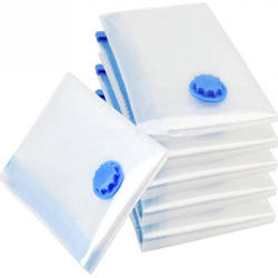Новый домашний вакуумный мешок для одежды сумка для хранения с клапаном прозрачная граница Складная вакуумный Органайзер Экономия