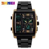 SKMEI Men Fashion Watches Count Down Chronograph Alarm Sport Watch Watwrproof EL Light Digital Wristwatches Relogio
