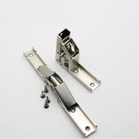 90 Degree Folding Hinge Simple Installation Conversion 180 Degree Table Support Sheet Concealed Flap Hinge X2