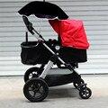 Carrinho de bebê Acessórios Parasol Guarda-chuva Colorido Crianças Crianças Sombra Carrinho De Bebê Dobrável Ajustável Para A Cadeira