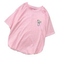 Women Plus Size T Shirt Ladies Korean Kpop GOT7 Tshirt Short Sleeve Summer Casua