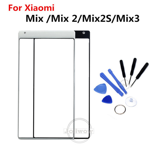 For XiaoMi Mi Mix Mix 2 3 Mix 2S Touch Screen Front Outer Screen touch Panel Glass Parts Repair Replacement for xiaomi mix 2 2s Pakistan