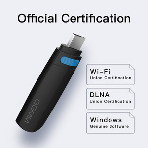 Image 2 - GGMM Miracast جهاز استقبال للتليفزيون أندرويد دونغل واي فاي لاسلكي صغير HDMI موالف التلفزيون 5G/2.4G DLNA AirPlay تدفق جهاز استقبال للتليفزيون ل ios يوتيوب