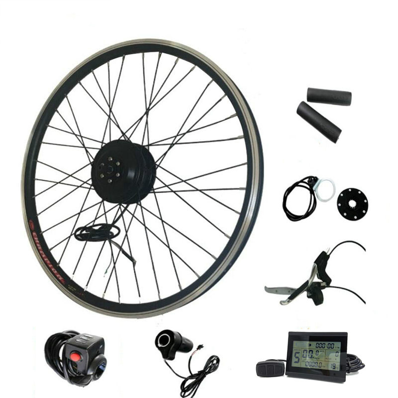 цена на E Bike Conversion Kit 36v 250w 350w 500w Electric Bicycle Motor Wheel For 20inch -29inch 700c Electric Bike Conversion Kit