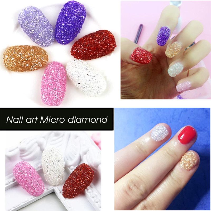 2016 New 1440Pcs Nails DIY Rhinestones Micro Diamond Crystal 12 Colors 3D  Nail Art Decoration Rhinestone Wholesale Cosmetic #052 In Rhinestones ...