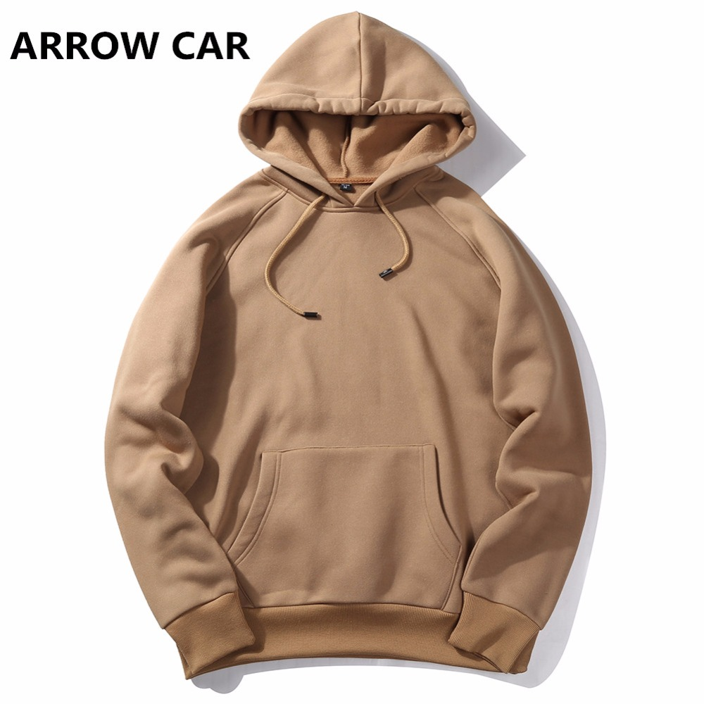 ARROW CAR New Thick Hoodie Fashion Pretty Thick Clothes Hip hop Loose Hoodie hooded Men's Casual Clothes