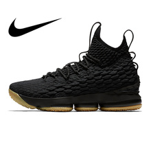 2248ab600ce Original Authentic Nike Lebron 15 LBJ15 Men s Basketball Shoes Sport  Sneakers Athletic Designer Footwear 2018 New