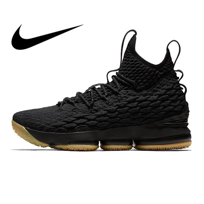 Original Authentique Nike Lebron 15 LBJ15 basketball pour hommes Chaussures De Sport Athlétique Designer Chaussures 2018 Nouveau Top Qualité