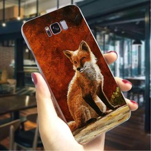 Fox cunning Hard Case for Samsung Galaxy M20 Pattern Phone Cover Note 8 9 M10 Cases Skin