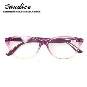 Henotin cat eye reading glasses purple and other women 4.0 d4e5382665
