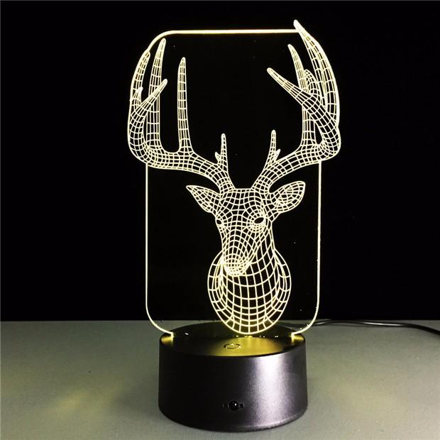 Deer Bedroom Lampe 1