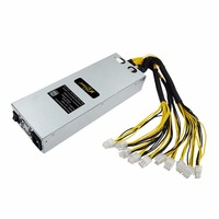 Roeyuta JLN 1600S L3 1600W Miner Power Supply For S9 S7 With Single Way Output 4cm
