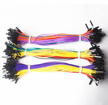 100pcs 5 Color 20cm 1p to 1p female to female jumper wire Dupont cable for Arduino