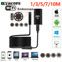 Armgroup Wifi Endoscope Camera Android 720P Iphone Borescope Waterproof Camera Endoscopic Semi Rigid Hard Tube IOS